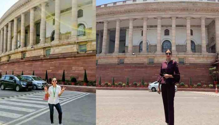 Trinamool MPs Mimi Chakraborty, Nusrat Jahan trolled for 'dressing up' for Parliament