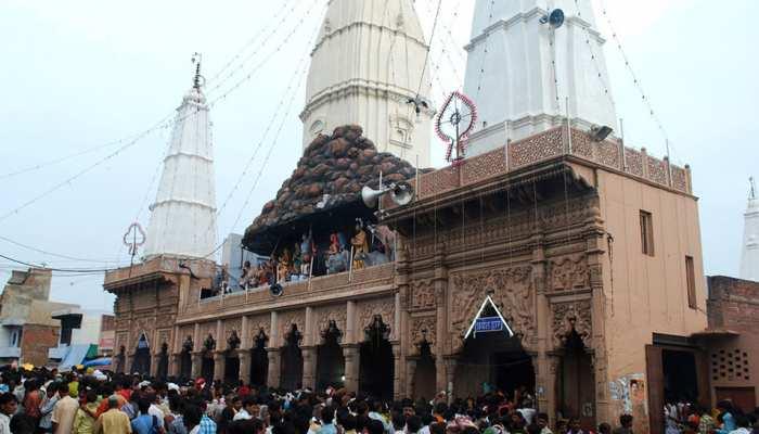 गोवर्धन: दानघाटी मंदिर का प्रबंधक गिरफ्तार, दान के करोड़ रुपये के गबन का है आरोप