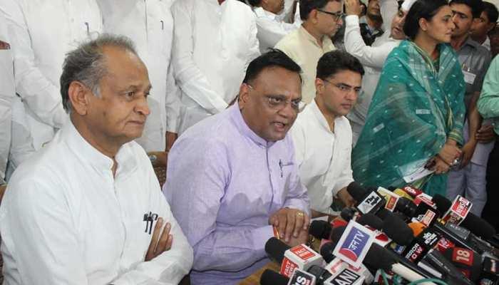 राजस्थान कांग्रेस ने किया अशोक गहलोत का बचाव, कहा - नेतृत्व में कोई परिवर्तन नहीं