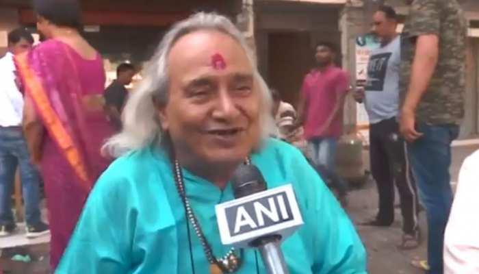 छन्नूलाल मिश्र ने श्रीराम से की PM मोदी की तुलना, बोले- 'दुष्टों का नाश करने के लिए लिया अवतार'