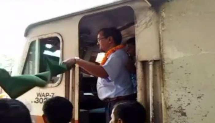 मुजफ्फरपुर नरकटियागंज रेलखण्ड ग्रीन बेल्ट में शामिल, इलेक्ट्रिक ट्रेन का परिचालन शुरू