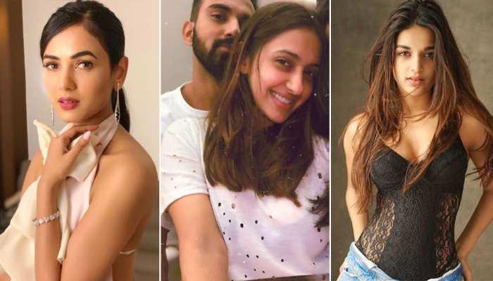 bollywood actress Sonal Chauhan, Niddhi Agerwal, Akanksha Ranjan Kapoor  Who is KL Rahul dating