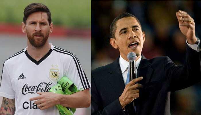 लियोनेल मेसी को ओबामा की टिप्स, बताया अर्जेंटीना ऐसे बन सकता है विश्व चैंपियन