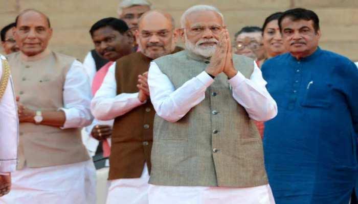 'मोदी कैबिनेट' में शामिल हुए उत्तर प्रदेश से 10 मंत्री, पूर्वी UP के सांसदों का दबदबा