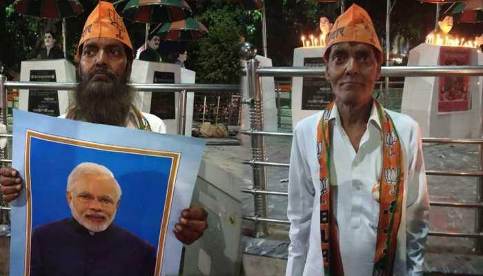 PM मोदी का सबसे बड़ा फैन, जिसने 5 साल बाद करवाई शेविंग, जानें क्या थी वजह
