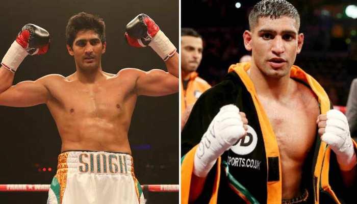 पाकिस्तानी मूल के मुक्केबाज आमिर खान ने कहा, 'विजेंदर सिंह मुझसे डरे हुए हैं'