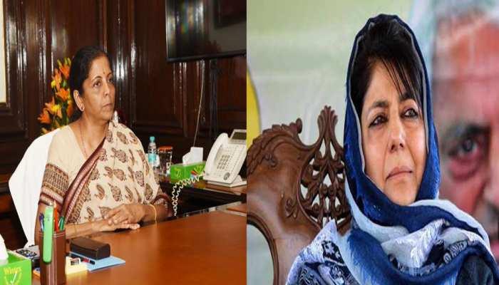 देश की पहली पूर्णकालिक वित्त मंत्री बनने पर महबूबा मुफ्ती ने दी निर्मला सीतारमण को बधाई