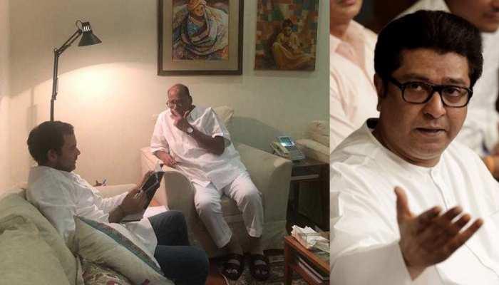 महाराष्ट्र के विधानसभा चुनावों में राज ठाकरे से हाथ मिला सकते हैं राहुल गांधी और पवार