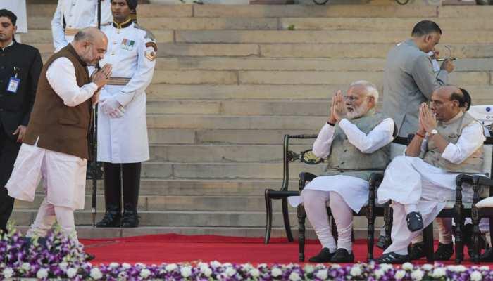 अमित शाह ने संभाला गृह मंत्रालय का कार्यभार, बोले, 'मुझ पर भरोसा जताने के लिए PM मोदी का आभार'