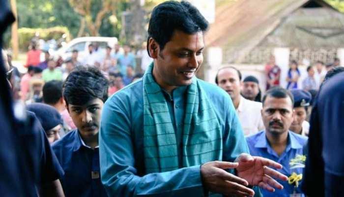 त्रिपुरा के मुख्यमंत्री ने स्वास्थ्य मंत्री को कैबिनेट से बाहर किया, ये है वजह