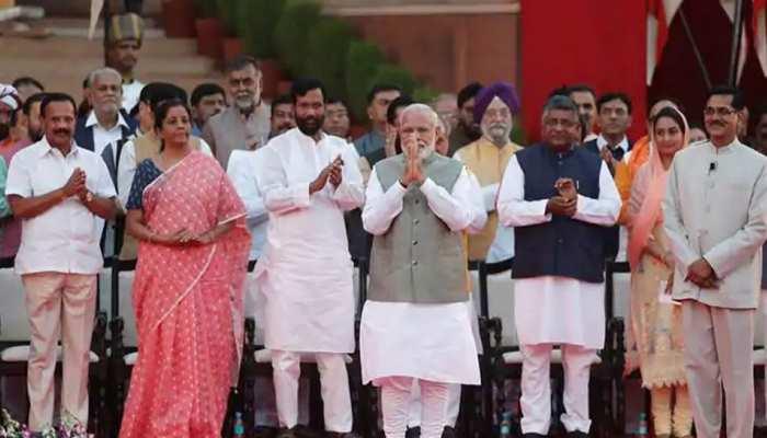 PM मोदी की टीम 2.0 में राज्यसभा सदस्यों की संख्या घटी