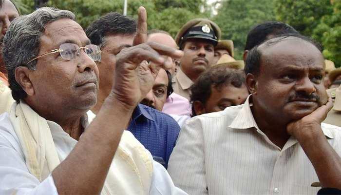 कर्नाटक: मंत्रिमंडल विस्तार की चर्चा के बीच कुमारस्वामी ने सिद्धारमैया से की मुलाकात
