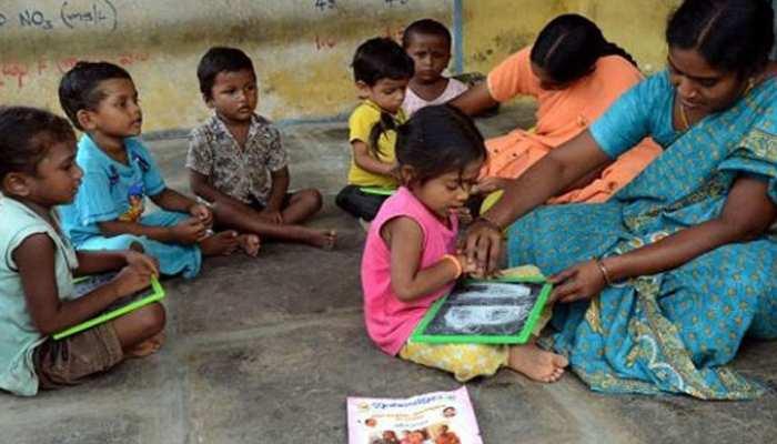 छह साल तक के बच्चों के लिए देश में बड़े पैमाने पर बनाए जाएंगे आंगनवाड़ी केंद्र