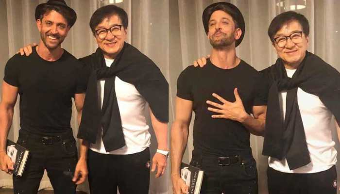 Hrithik Roshan meets Chinese superstar Jackie Chan, see PHOTOS here