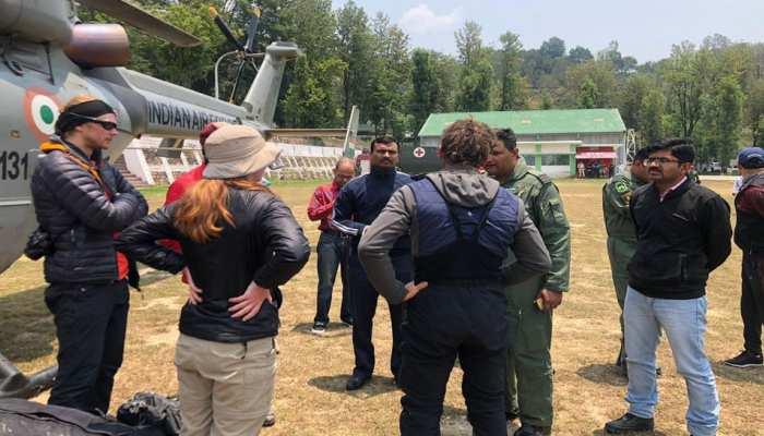 ITBP ने वायुसेना की मदद से नंदा देवी पर्वत से बचाए 4 विदेशी पर्वतारोही, कल होगी अन्य की तलाश