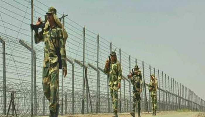 राजस्थान: तपती गर्मी में भी भारत-पाक सीमा पर मुस्तैदी से तैनात BSF के जवान