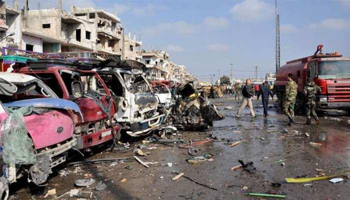 सीरिया के एजाज में कार बम विस्फोट, 4 बच्चों समेत 17 लोगों की मौत