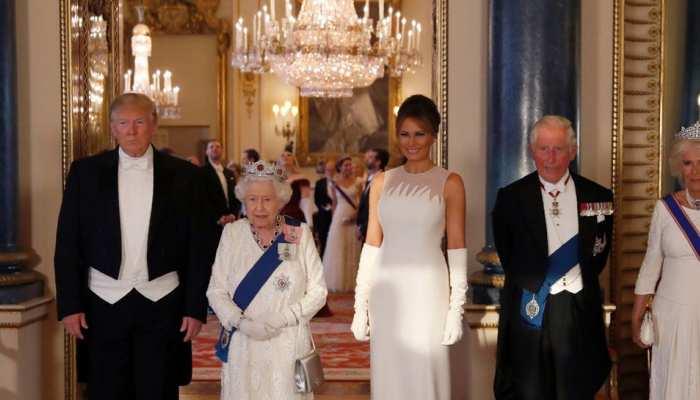 ब्रिटेन की महारानी को दिये गिफ्ट को नहीं पहचान पाए डोनाल्ड ट्रंप, पत्नी ने किसी तरह बचाया