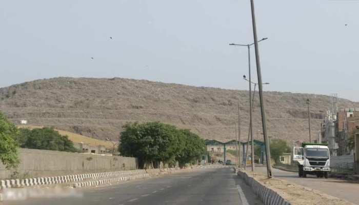 2020 तक ताजमहल से भी ऊंचा हो जाएगा दिल्ली में कूड़े का यह पहाड़