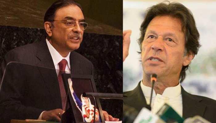 आसिफ अली जरदारी ने इमरान खान की सरकार को हटाने का लिया संकल्प