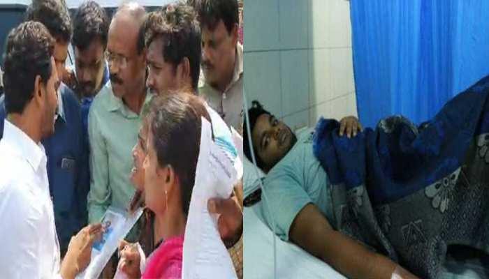 'फ्रेंड्स ऑफ नीरज कुमार' से काफिला रोककर मिले CM जगन मोहन रेड्डी, कैंसर पीड़ित का शुरू कराया इलाज