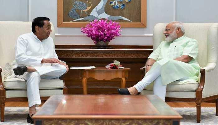 मध्य प्रदेश के मुख्यमंत्री कमलनाथ ने की PM मोदी से मुलाकात, कई मुद्दों पर हुई चर्चा