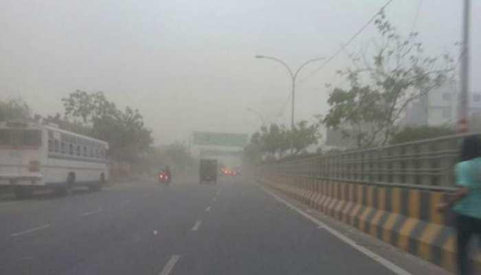 मुरादाबाद में झमाझम हुई बारिश, शहर में जगह-जगह लगा लंबा जाम