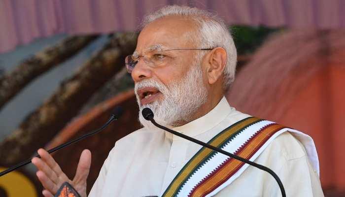 PM मोदी ने केरल के गुरुवायूर में की सभा, बताया बनारस जैसा केरल को प्रिय