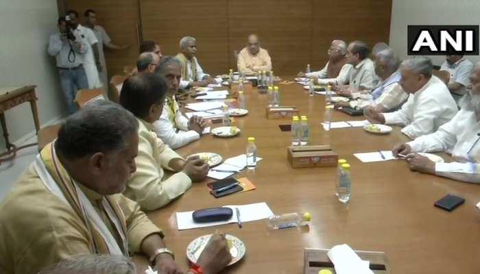 LIVE: 3 राज्यों के BJP कोर ग्रुप संग अमित शाह की बैठक जारी, विधानसभा चुनावों को लेकर चर्चा