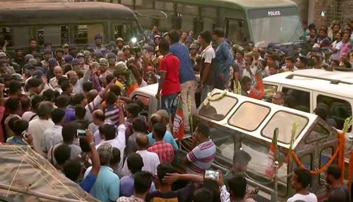 पश्चिम बंगाल में थम नहीं रही हिंसा, बीजेपी सोमवार को मनाएगी काला दिन, इंटरनेट पर रोक
