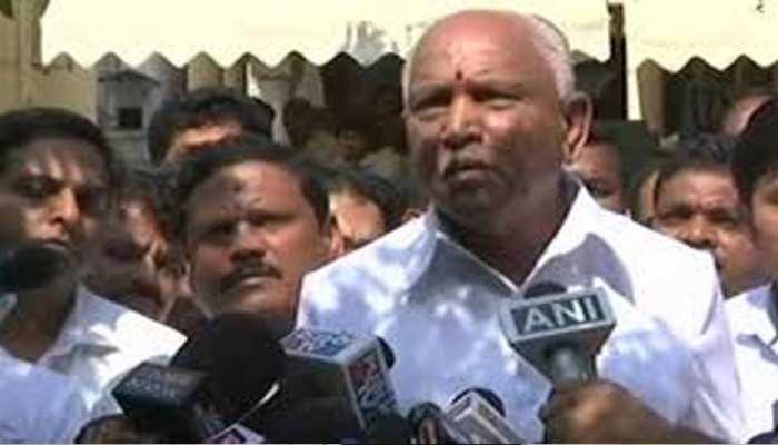 येदियुरप्पा ने कांग्रेस, JDS पर लगाया आरोप, जमीन सौदे में ली रिश्वत