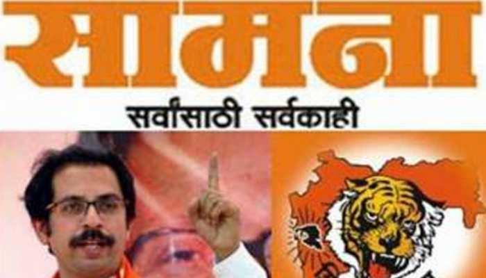 शिवसेना का सरकार पर तंज, 'विजय का आनंदोत्सव खत्म हो गया, अलीगढ़ की दर्दनाक घटना की तरफ देखें'