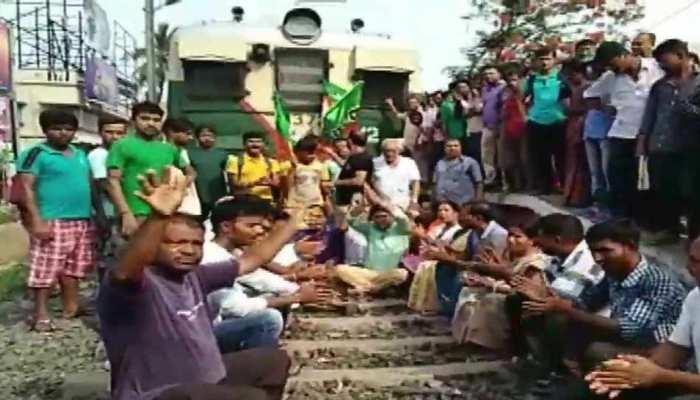 पश्चिम बंगाल में 'काला दिवस' मना रही बीजेपी, हिंसा के विरोध में रैलियां आयोजित