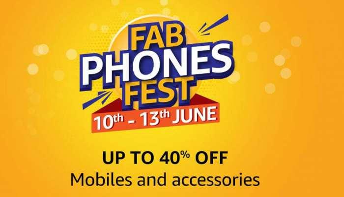 अमेजन पर आज से शुरू हो रहा 'FAB PHONES FEST', स्मार्टफोन्स पर भारी डिस्काउंट
