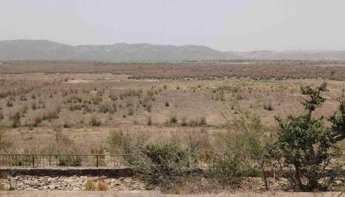 राजस्थान: 116 साल पहले बने रामगढ़ बांध पर प्रचंड गर्मी को प्रकोप, सालों से पड़ा सूखा