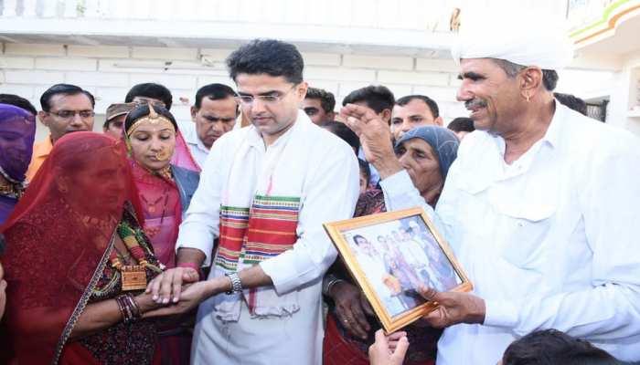 सचिन पायलट ने जालौर की सोमारी से बंधवाई राखी, किया रक्षा का वादा