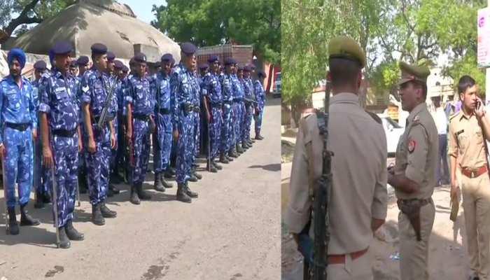 अलीगढ़ बच्ची हत्याकांड के बाद अब टप्पल में शांति, भारी पुलिस बल तैनात