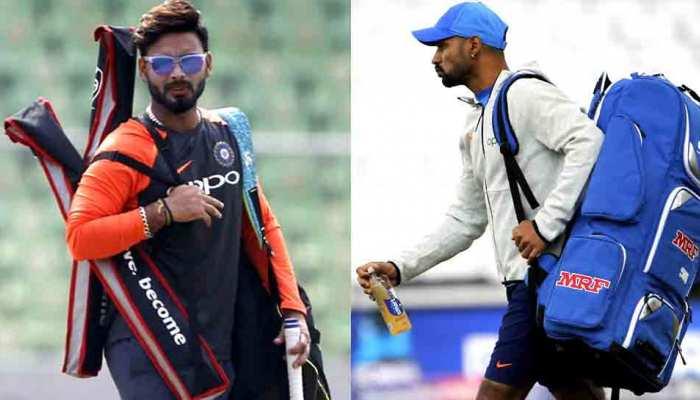 Cricket World Cup 2019: चोटिल शिखर धवन के कवर के तौर पर ऋषभ पंत टीम में शामिल: BCCI