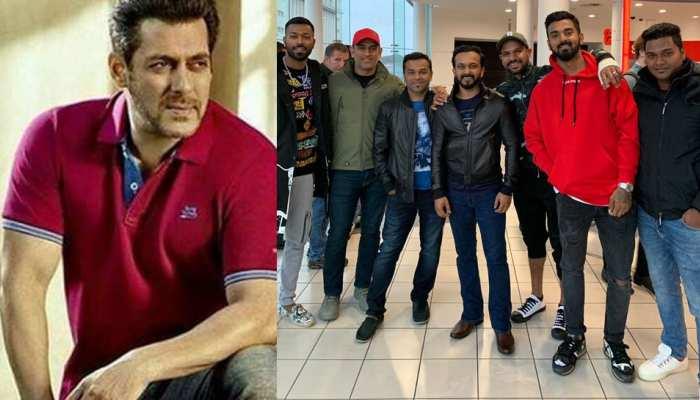 इंडियन क्रिकेट टीम ने इंग्लैंड में देखी 'भारत', भाईजान ने इमोशनल होकर लिखा यह मैसेज!