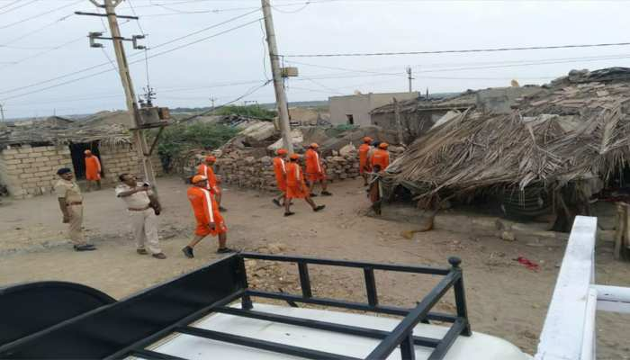 चक्रवात 'वायु': गुजरात के 560 गांवों में बिजली आपूर्ति बाधित