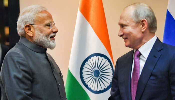 PM Narendra Modi hold delegation level talks with Vladimir Putin, mentions Amethi