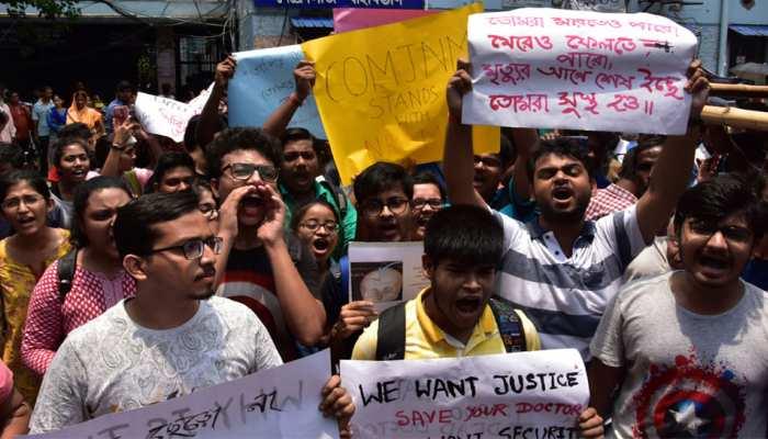 ममता और डॉक्टरों के विवाद ने पकड़ा तूल, पूरे देश के जूनियर डॉक्टर आज हड़ताल पर