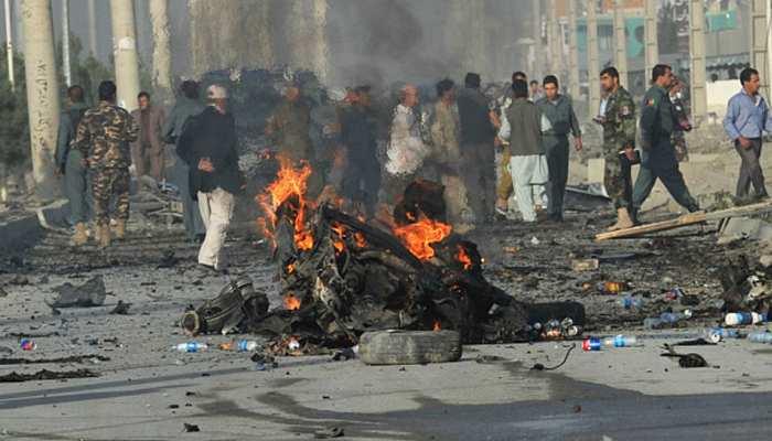 अफगानिस्तान: पुलिस जांच चौकी के पास हुए आत्मघाती हमले में 11 लोगों की मौत