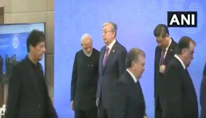 SCO सम्मेलन: PM मोदी और इमरान के बीच कोई मीटिंग नहीं, दुआ-सलाम भी नहीं हुई