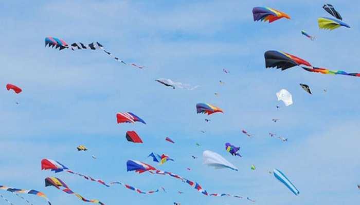 उदयपुर में निर्जला एकादशी पर हर्षोल्लास के साथ मनाया गया पतंग महोत्सव