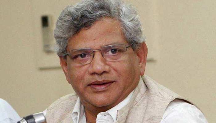 डाक्टरों की समस्या का राजनीतिकरण कर रही हैं ममता बनर्जी: सीताराम येचुरी