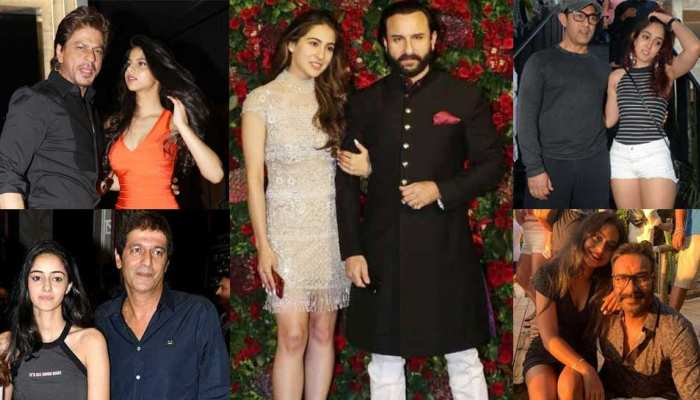 Fathers Day Special Bollywood stars and their daughters