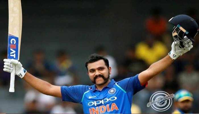 #IndiaVsPakistan: पाकिस्तान के खिलाफ रोहित की पारी का सोशल मीडिया पर 'अभिनंदन'
