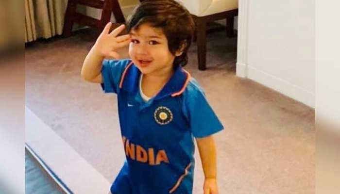 उधर पाकिस्तान से जीती टीम इंडिया, इधर वायरल होने लगी तैमूर की तस्वीर