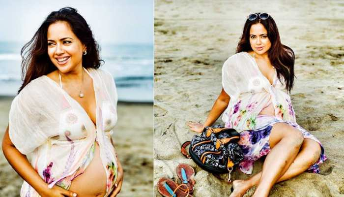 Photos of pregnancy actress Sameera Reddy's again viral on social media